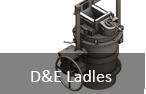 D&E Foundry Ladles
