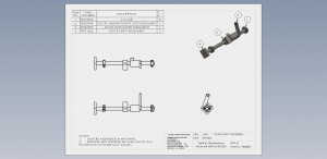 Door Shaft Assembly