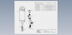 Ejector Air Cylinder Assembly