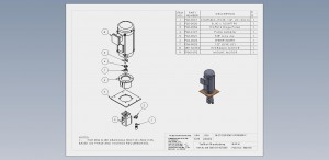 Motor & Pump Assembly